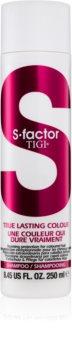 TIGI S-Factor True Lasting Colour shampoing protecteur pour cheveux colorés