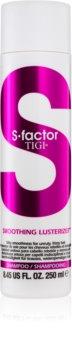 TIGI S-Factor Smoothing Lusterizer šampón pre nepoddajné a krepovité vlasy