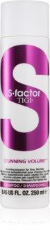 TIGI S-Factor Stunning Volume shampoo per capelli fini e mosci