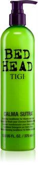 TIGI Bed Head Calma Sutra condicionador de limpeza e hidratante para ondas e caracóis