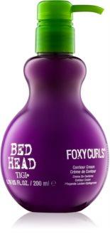 TIGI Bed Head Foxy Curls verzorgende en verstevigende crème voor golfdefinitie