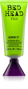 TIGI Bed Head Screw It jelly oil idratante per ricci