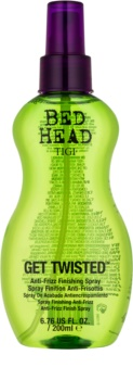 TIGI Bed Head Get Twisted fixáló finish spray töredezés ellen
