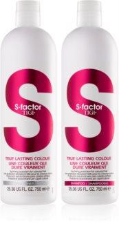 TIGI S-Factor True Lasting Colour kozmetični set I. (za barvane lase) za ženske