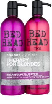 TIGI Bed Head Dumb Blonde kosmetická sada XIII.
