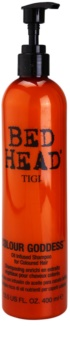 TIGI Bed Head Colour Goddess champô oleoso para cabelo pintado