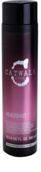 TIGI Catwalk Headshot regeneračný šampón pre chemicky ošterené vlasy