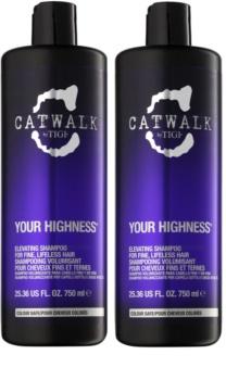 TIGI Catwalk Your Highness coffret VIII.