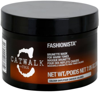 Tigi Catwalk Fashionista Maske Für Einen Warmen Farbton Brauner