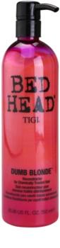 TIGI Bed Head Dumb Blonde kondicionér pro chemicky ošetřené vlasy