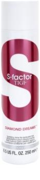 TIGI S-Factor Diamond Dreams condicionador para cabelo brilhante e macio