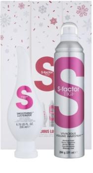 TIGI S-Factor Smoothing косметичний набір XVI.