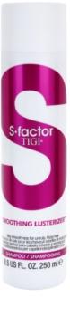 TIGI S-Factor Smoothing Lusterizer šampon pro nepoddajné a krepatějící se vlasy