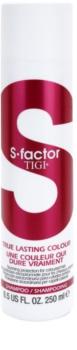 TIGI S-Factor True Lasting Colour Schützendes Shampoo für gefärbtes Haar