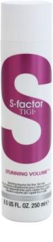 TIGI S-Factor Stunning Volume Conditioner für dünnes und splissiges haar