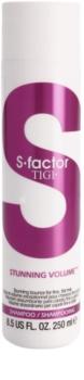 TIGI S-Factor Stunning Volume Shampoo für feines und schlaffes Haar