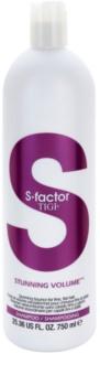 TIGI S-Factor Stunning Volume šampón pre jemné vlasy bez objemu