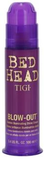 TIGI Bed Head Blow-Out žiarivý zlatý krém pre uhladenie vlasov