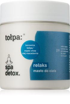Tołpa Spa Eco Relax tělové máslo pro velmi suchou pokožku