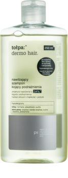 Tołpa Dermo Hair szampon nawilżający do podrażnionej skóry głowy