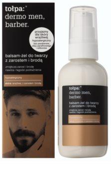 Tołpa Dermo Men Barber baume-gel adoucissant pour les hommes portant la barbe