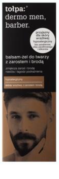 Tołpa Dermo Men Barber zjemňující balzám-gel pro muže s vousy