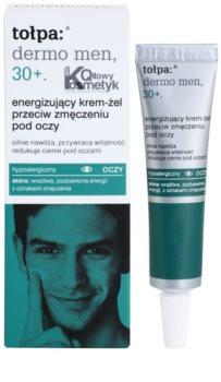 Tołpa Dermo Men 30+ gel-crema energizante para contorno de ojos