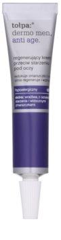 Tołpa Dermo Men 40+ creme regenerador para os olhos antirrugas e anti-olheiras