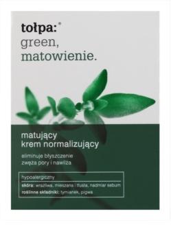 Tołpa Green Matt krem normalizująco-matujący do skóry  tłustej