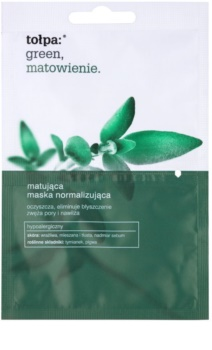 Tołpa Green Matt normalizující pleťová maska s matným efektem