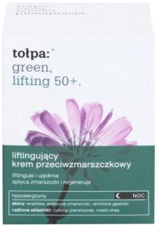 Tołpa Green Lifting 50+ Nachtcreme mit Lifting-Effekt
