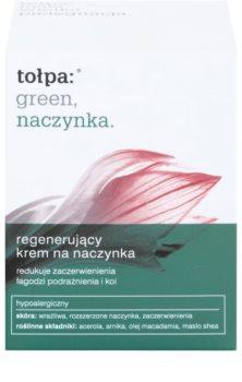 Tołpa Green Capillary creme regenerador   para pequenos derrames no rosto