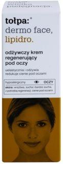 Tołpa Dermo Face Lipidro regenerierende Augencreme gegen Falten und dunkle Augenringe