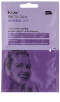 Tołpa Dermo Face Modelar 50+ čištění a remodelace obličeje ve dvou krocích