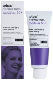 Tołpa Dermo Face Modelar 50+ crema remodeladora de noche con efecto rejuvenecedor