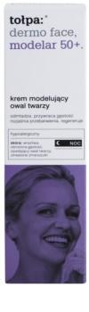 Tołpa Dermo Face Modelar 50+ creme remodelador de noite com efeito rejuvenescedor