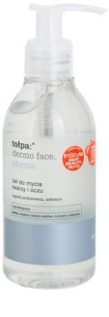 Tołpa Dermo Face Physio gel de limpeza para rosto e olhos