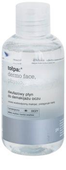 Tołpa Dermo Face Physio removedor de maquilhagem de olhos com dois componentes para o fortalecimento das pestanas