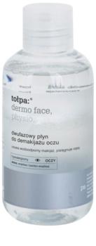 Tołpa Dermo Face Physio Twee Componenten Oog Make-up Remover en Wimper Versterker
