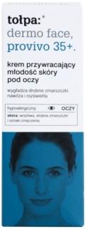 Tołpa Dermo Face Provivo 35+ crema rejuvenecedora para contorno de ojos