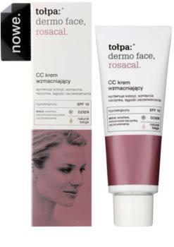 Tołpa Dermo Face Rosacal CC Creme für Haut mit Neigung zum Erröten SPF 10