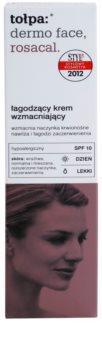 Tołpa Dermo Face Rosacal beruhigende Tagescreme gegen Rötungen SPF 10