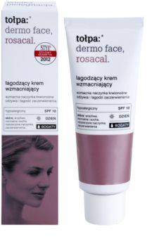 Tołpa Dermo Face Rosacal łagodzący, bogaty krem przeciw zaczerwienieniom SPF 10