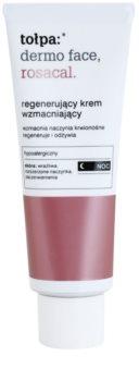Tołpa Dermo Face Rosacal creme regenerador de noite  para a pele sensível com tendência a aparecer com vermelhidão