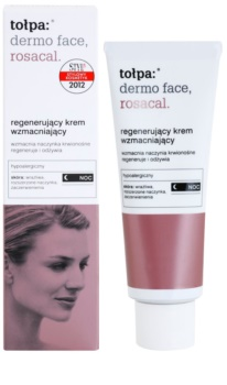 Tołpa Dermo Face Rosacal crema de noche regeneradora  para pieles sensibles con tendencia a las rojeces