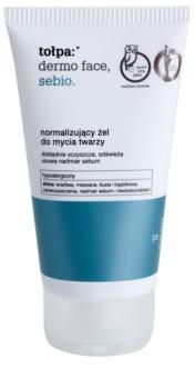 Tołpa Dermo Face Sebio gel limpiador para pieles grasas