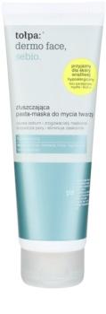 Tołpa Dermo Face Sebio eksfolijacijska maska za zaglađivanje kože lica i smanjenje pora