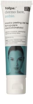 Tołpa Dermo Face Sebio maska-peeling-żel 4w1 do skóry z niedoskonałościami