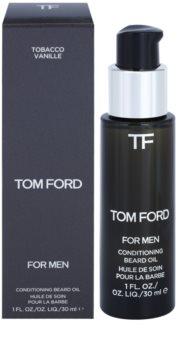 Tom Ford For Men szakáll olaj vanília és dohány illattal