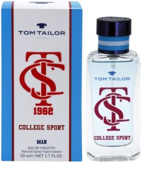 Tom Tailor College sport Eau de Toilette for Men 50 ml